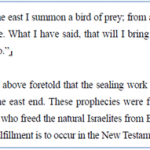 A Bird of Prey from the East in Isaiah 46 Is a Prophecy About Christ Ahnsahnghong
