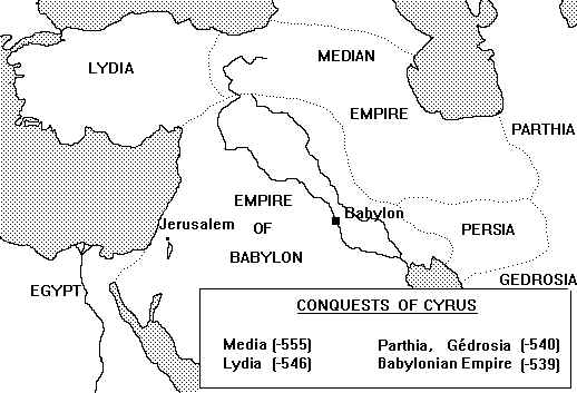 Conquest of Cyrus the Great, Bible Prophecy